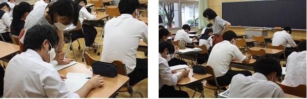 高入生3年文Bの数学Ⅱ、数学探究では難関大記述問題に対応した授業を行っています。_e0313769_10431578.jpg