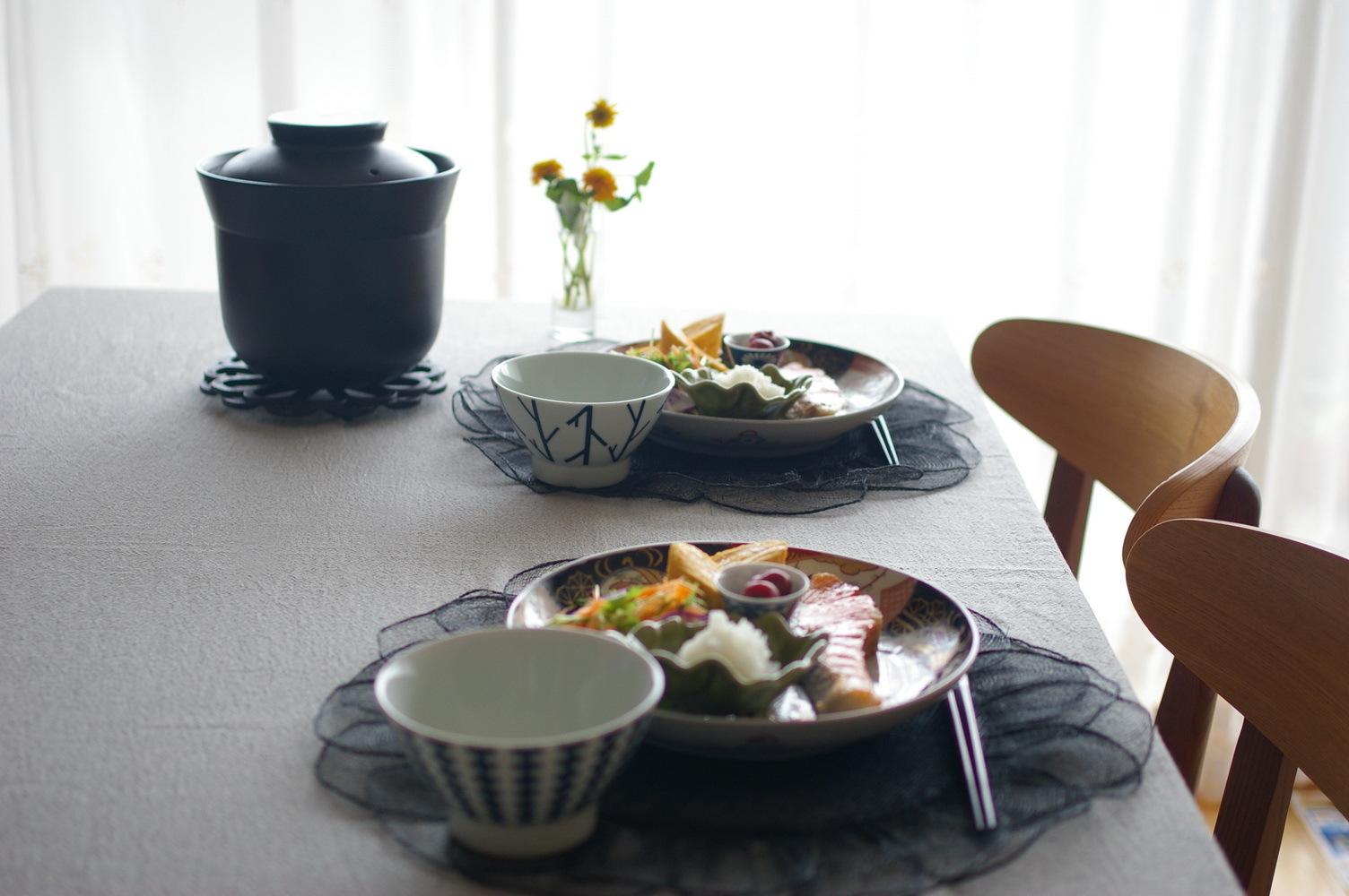 朝食のような塩鮭ランチ_d0327373_11264167.jpg