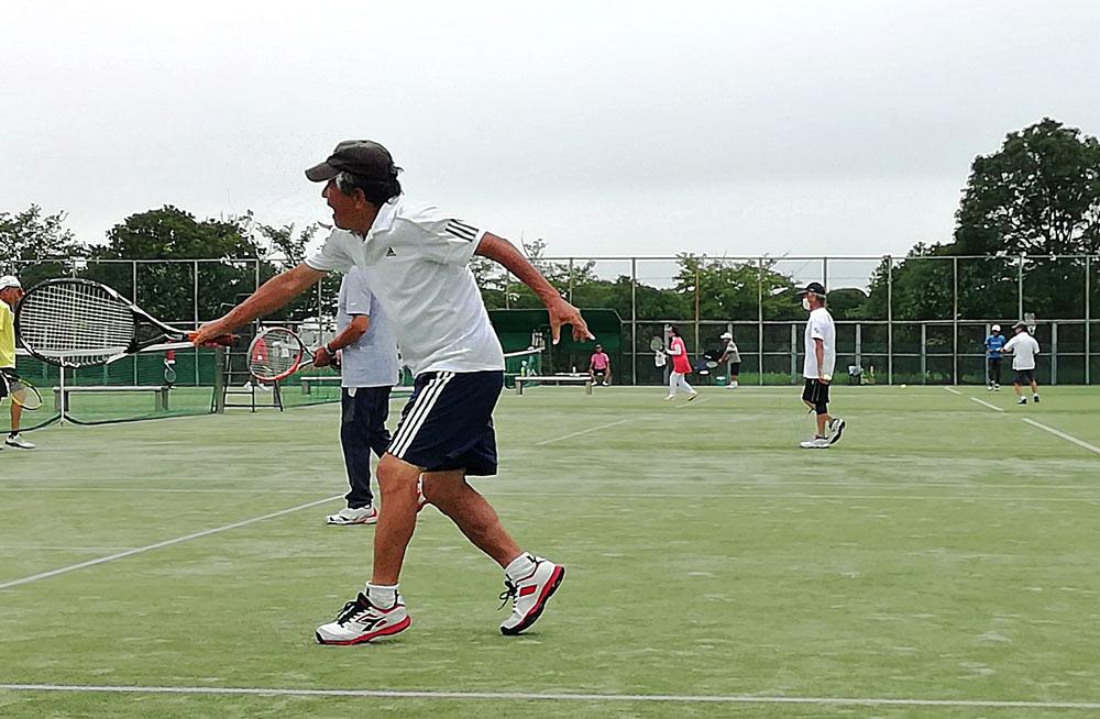 15周年を迎えたシニアテニスクラブ_b0114798_16235037.jpg