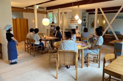 「やよいの菜食お食事会in長野県白馬村」開催 _a0170699_18433357.jpg