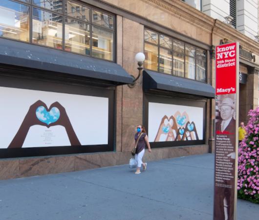 老舗デパート、メイシーズ(Macy\'s)ニューヨーク本店のコロナ対策_b0007805_05240074.jpg