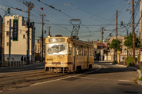 北海道函館市「市内電車」_a0096313_19504555.jpg