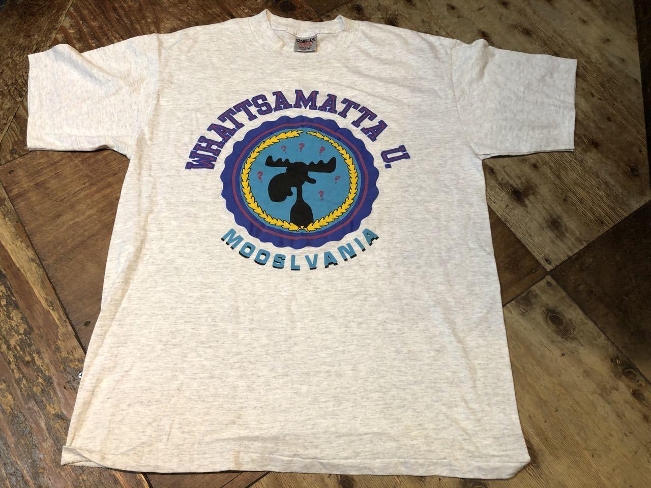 7月30日(木)入荷!90s MADE IN U.S.A  WHATTSMATTA U ジョーク Tシャツ!_c0144020_14004756.jpg