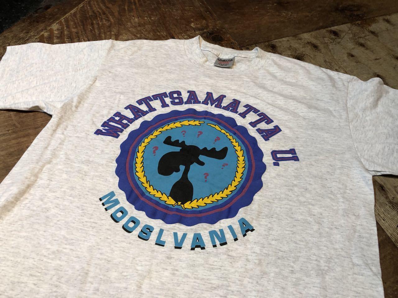 7月30日(木)入荷!90s MADE IN U.S.A  WHATTSMATTA U ジョーク Tシャツ!_c0144020_14005358.jpg