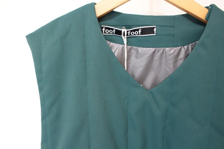 FOOF padding vest_f0170424_10403837.jpg