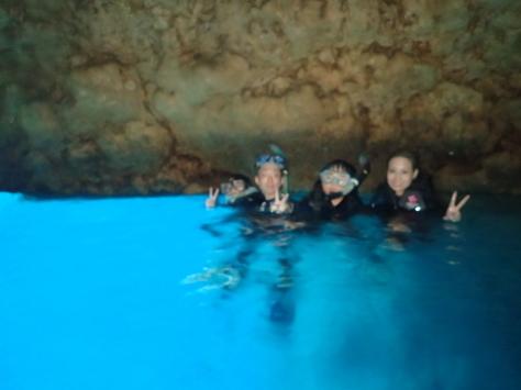 7月29日今日は水納島・ジンベイザメ・青の洞窟!!まさに夏メニューだな!!_c0070933_21420205.jpg