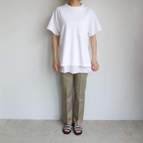 THE NERDYS : THERMAL layered t-shirt_a0234452_13012768.jpg