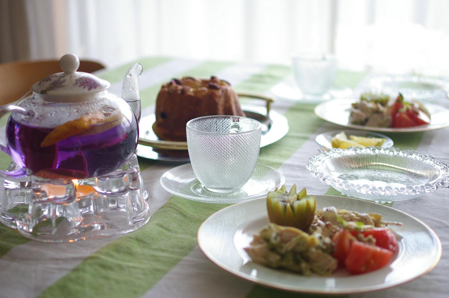 クグロフ型で焼いたパンでおうちランチ_d0327373_14172835.jpg