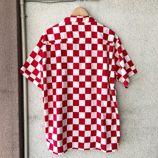 King Kole Checkerboard Open Collar Shirt_c0146178_13214508.jpg
