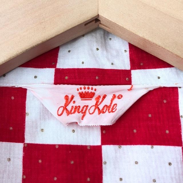 King Kole Checkerboard Open Collar Shirt_c0146178_13223706.jpg