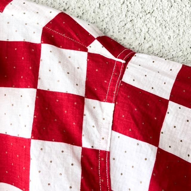 King Kole Checkerboard Open Collar Shirt_c0146178_13230491.jpg