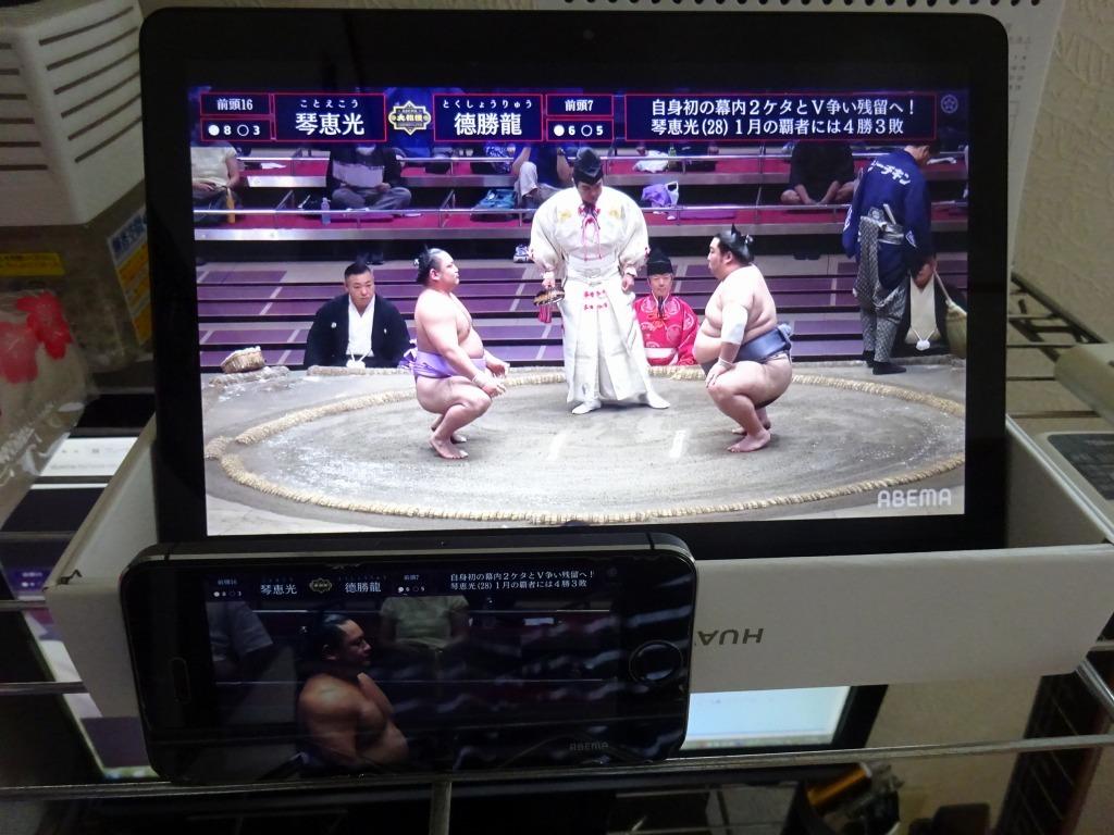 ネット相撲観戦、アベマよりユーチューブのライブ中継に切り替えた_d0061678_17233508.jpg
