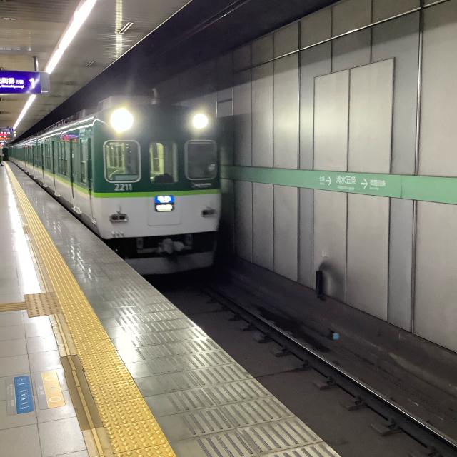たまたま乗った京阪電車が2200系ビンテージ車両でごっつ嬉し。_a0334793_17014656.jpg