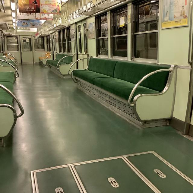 たまたま乗った京阪電車が2200系ビンテージ車両でごっつ嬉し。_a0334793_17021005.jpg