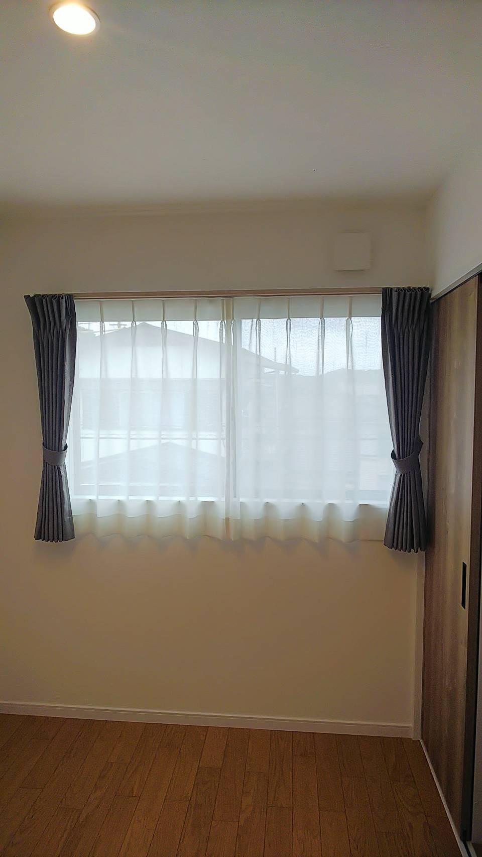 天然素材のカーテン施工させていただきました✨_f0196294_10291670.jpg