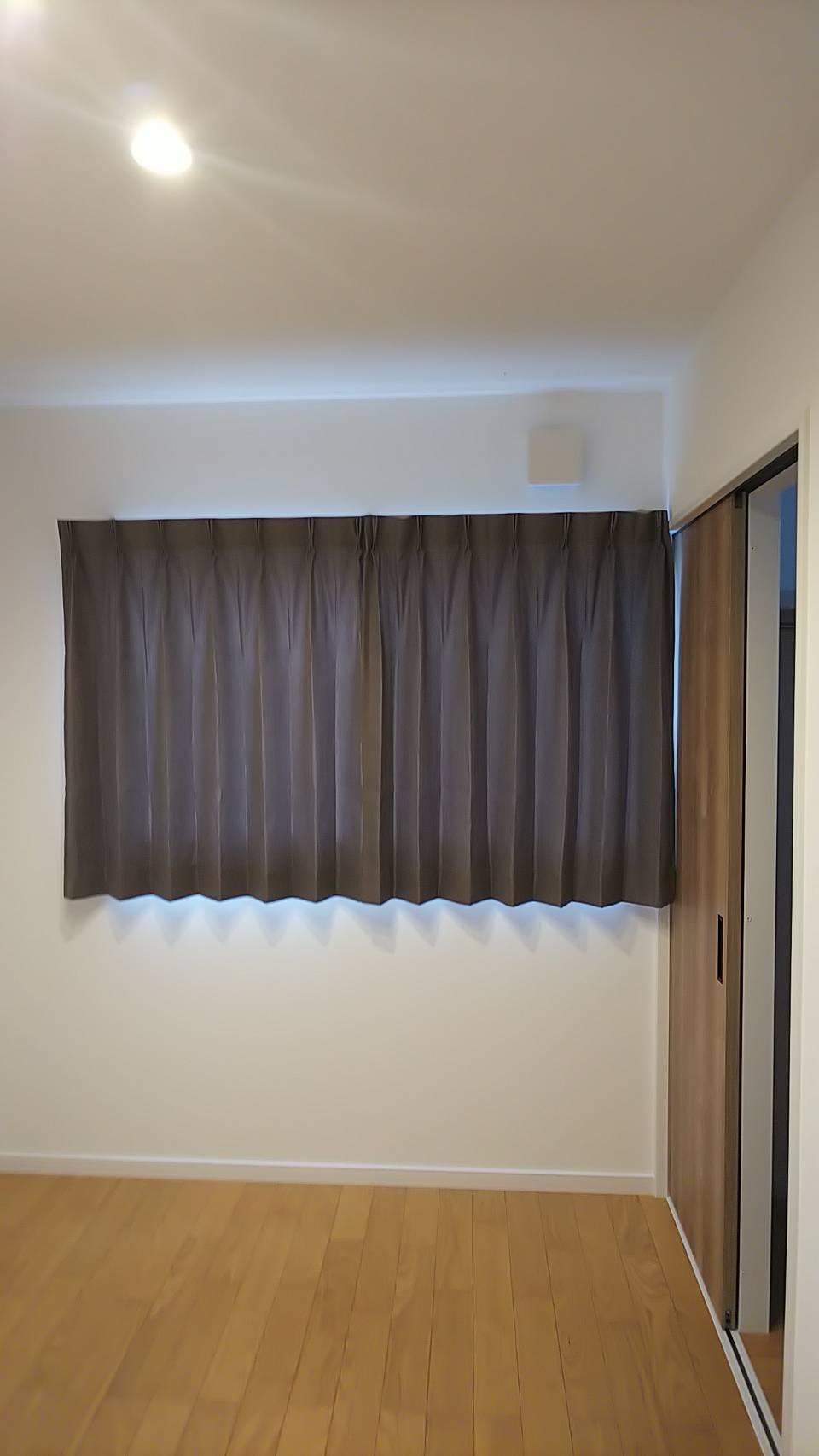 天然素材のカーテン施工させていただきました✨_f0196294_10291796.jpg