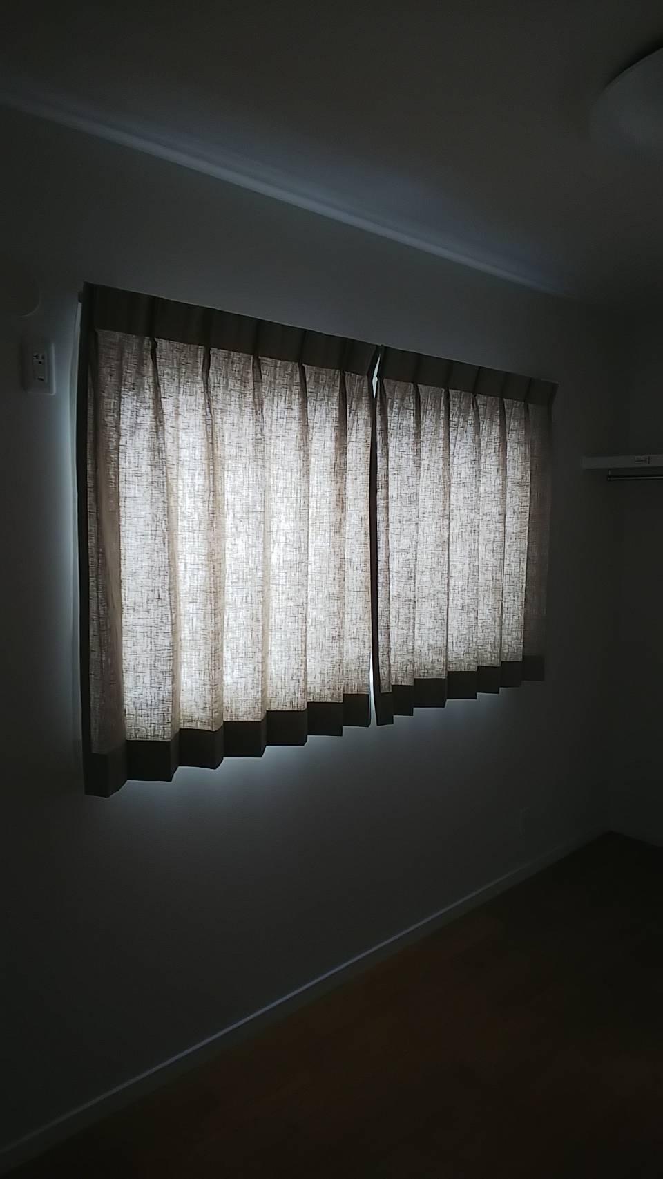 天然素材のカーテン施工させていただきました✨_f0196294_10292078.jpg