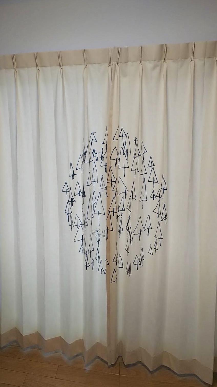 天然素材のカーテン施工させていただきました✨_f0196294_10301407.jpg