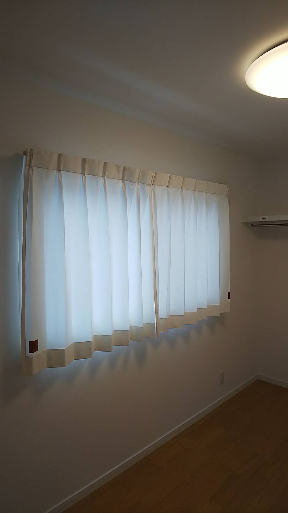 天然素材のカーテン施工させていただきました✨_f0196294_10305157.jpg