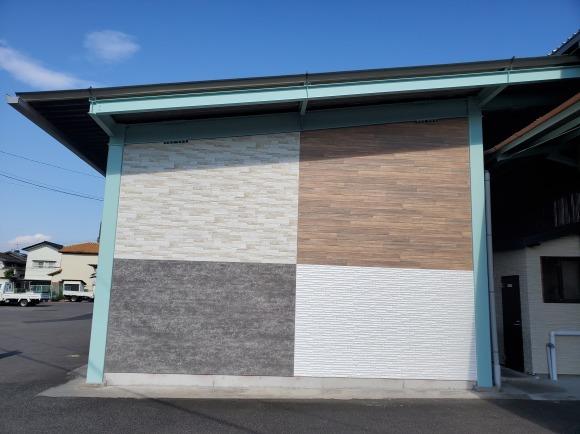 外装部倉庫の壁を新設しました!_e0336405_15384882.jpeg