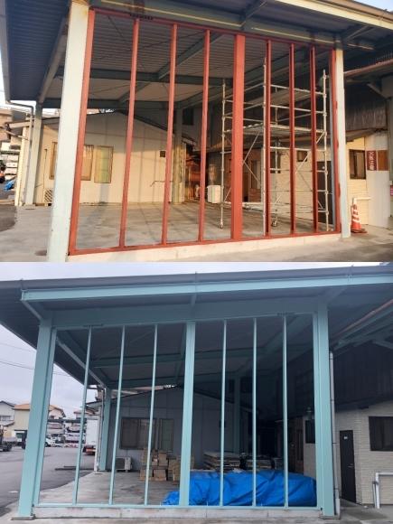 外装部倉庫の壁を新設しました!_e0336405_15411007.jpg