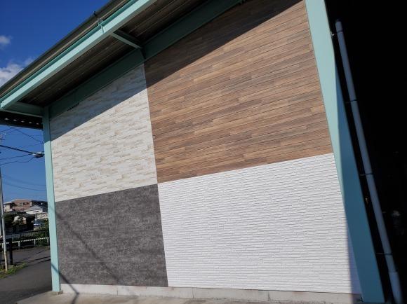 外装部倉庫の壁を新設しました!_e0336405_16060883.jpeg
