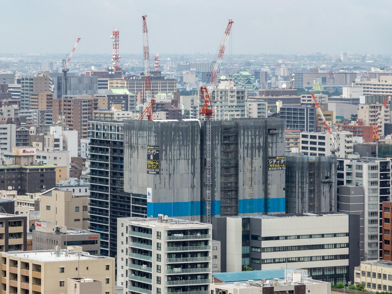シティタワー葵建設進捗_a0177616_14455381.jpg