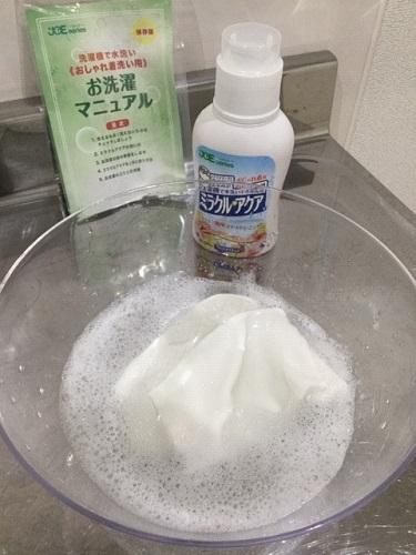 布マスクを洗ってみたら、、、洗剤の比較検証_a0322418_17462621.jpg