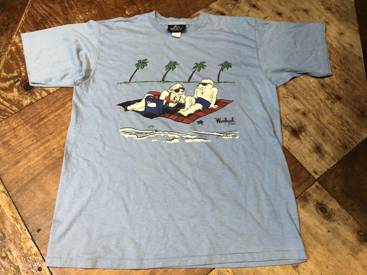 8月1日(土)入荷!80s MADE IN U.S.A  woolrich  ウールリッチ Tシャツ! _c0144020_13264648.jpg