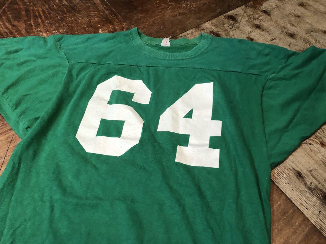 8月1日(土)入荷!60s all cotton Southern Atletic (ラッセル) ビンテージ フットボールTシャツ!_c0144020_13271155.jpg