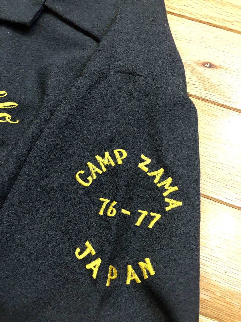 8月1日(土)入荷!70s U.S ARMY HAMAYA YOKOHAMA  CAMP ZAMA Suvenior bowling shirt!_c0144020_13365681.jpg