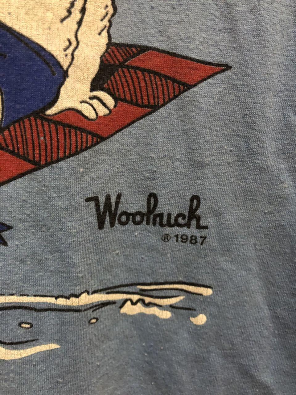 8月1日(土)入荷!80s MADE IN U.S.A  woolrich  ウールリッチ Tシャツ! _c0144020_17041724.jpg