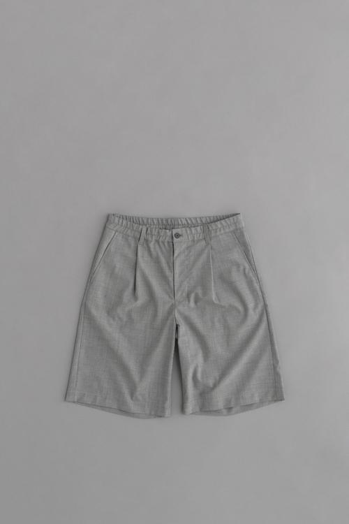 STILL BY HAND Summer Wool Shorts_d0120442_14265777.jpg