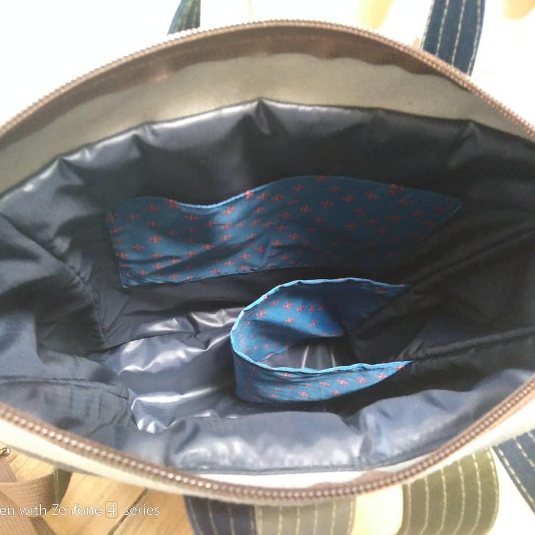 オーダーのバッグ、リュック、帽子_a0068350_22595399.jpg