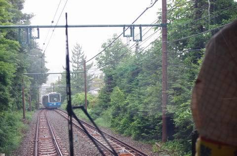 7/30 新しいケーブルカーと新しい早雲山駅を。_e0094492_19290801.jpg
