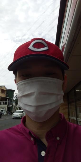 本日もアベノマスクよりコンビニのマスクで介護現場に出勤です!_e0094315_08141376.jpg