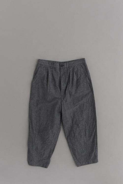 COMME des GARCONS HOMME C/N/L 2Tuck Cropped Pants (Charcoal)_d0120442_1223783.jpg