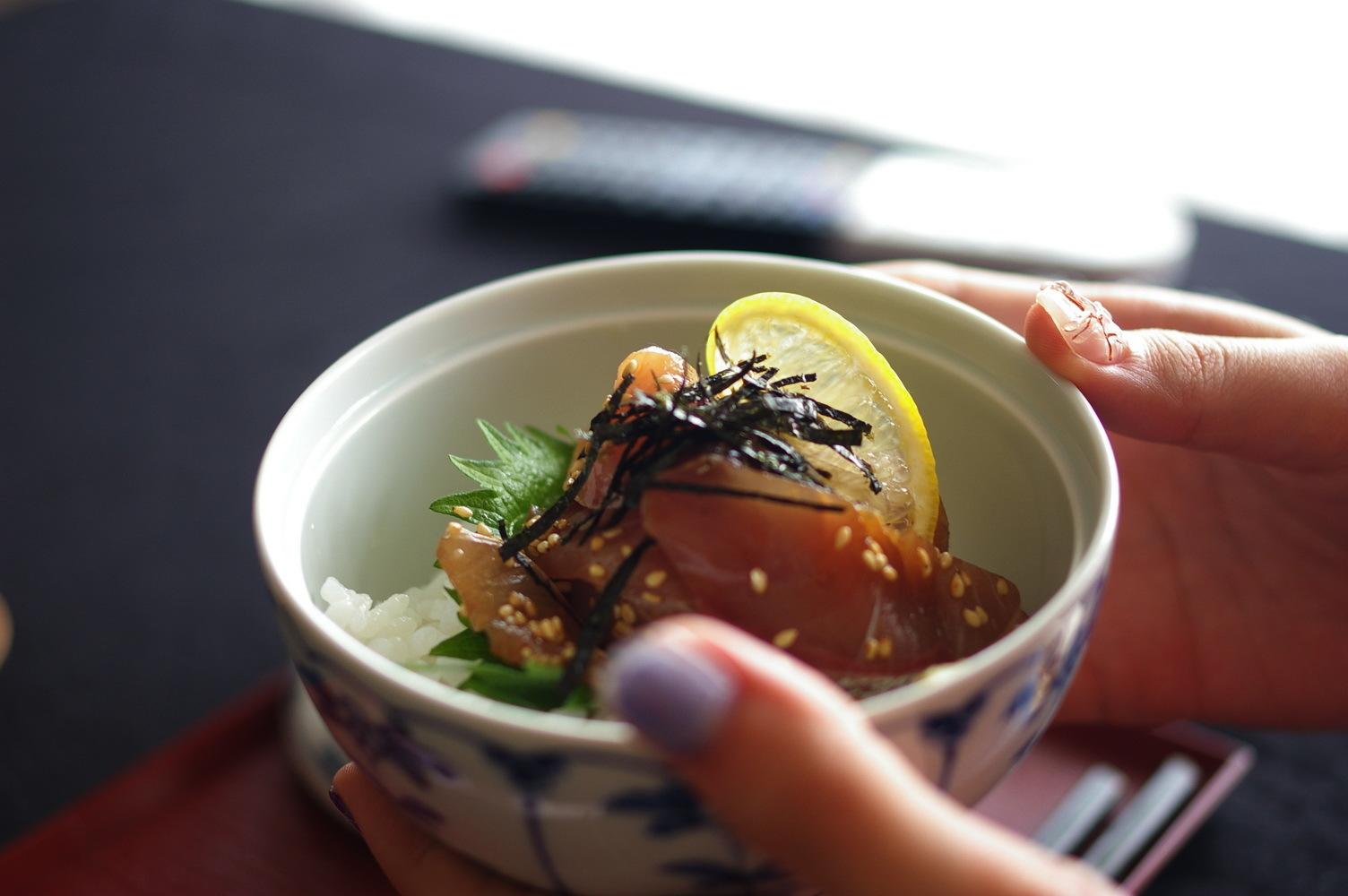 ハマチの胡麻醤油和え_d0327373_15303577.jpg