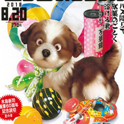 《 村松 誠 8月の犬さん 》_c0328479_14180265.jpg