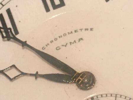 戦前提時計・CYMA製。_a0154482_22083506.jpg