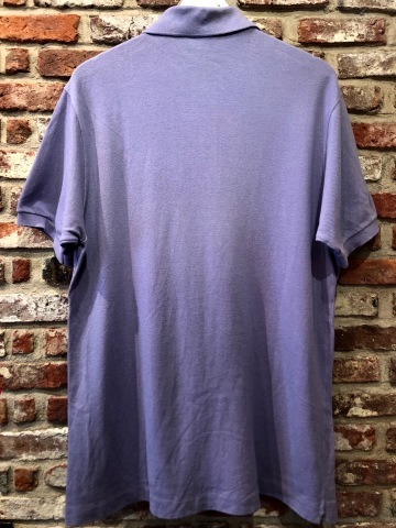 """1970-80s \"""" LACOSTE - MADE IN FRANCE - \"""" 100% cotton PIQUE Vintage S/S POLO SHIRTS ※ ラベンダー( 薄紫 )_d0172088_19540981.jpg"""