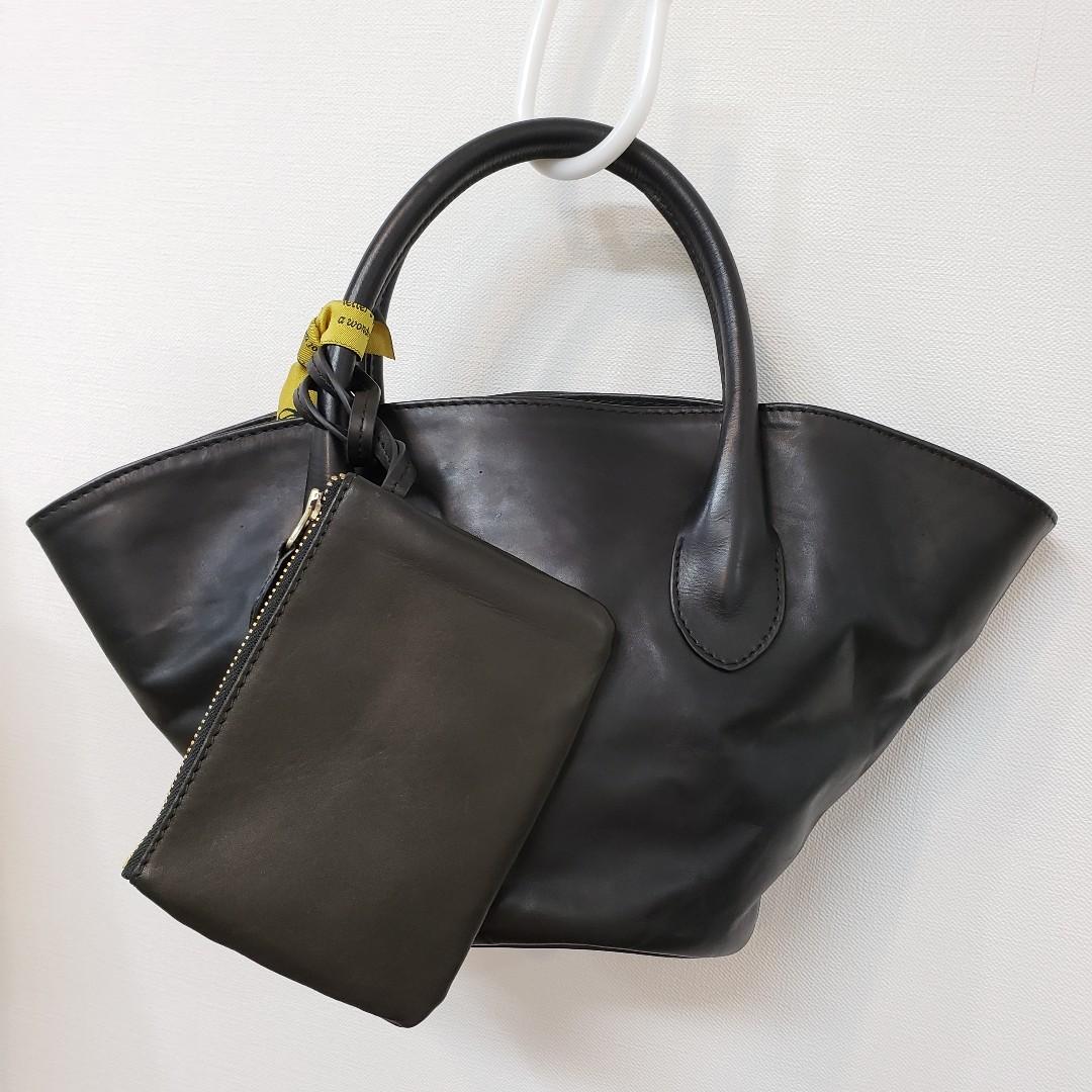 Ampersandアンパサンド Ampersand leather baske bag S 0220-134_e0076692_16571107.jpg