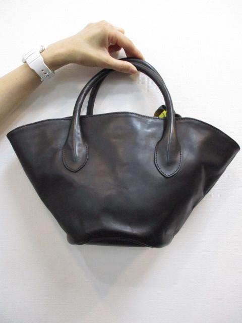 Ampersandアンパサンド Ampersand leather baske bag S 0220-134_e0076692_18411370.jpg