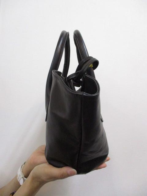 Ampersandアンパサンド Ampersand leather baske bag S 0220-134_e0076692_18411678.jpg