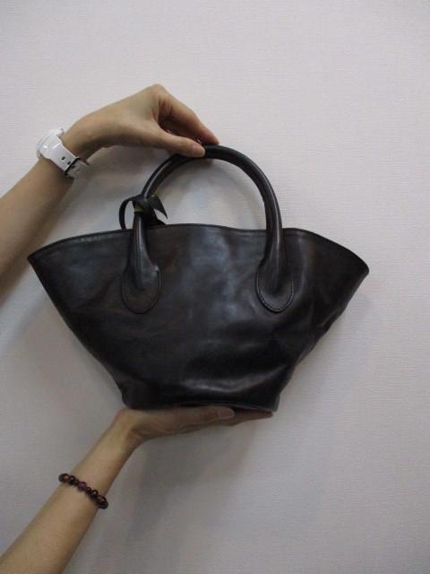 Ampersandアンパサンド Ampersand leather baske bag S 0220-134_e0076692_18412015.jpg