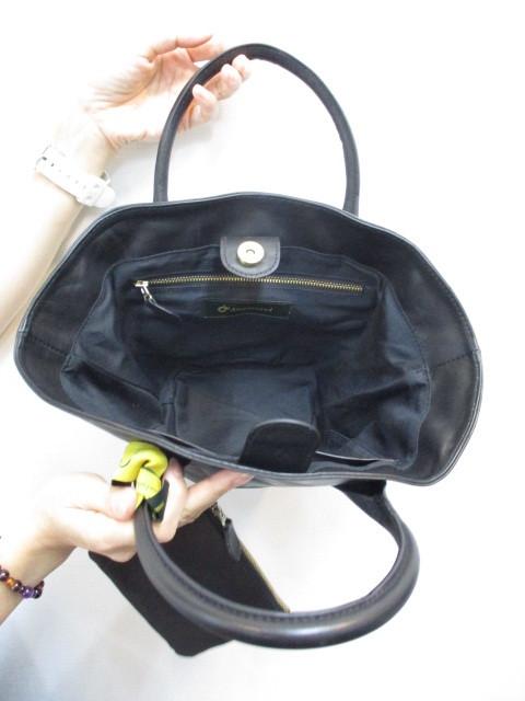 Ampersandアンパサンド Ampersand leather baske bag S 0220-134_e0076692_18412793.jpg