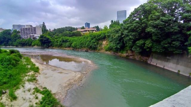 霊屋橋の下から撮ってみる@広瀬川_f0100593_18302596.jpg