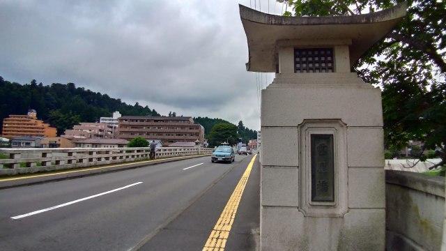 霊屋橋の下から撮ってみる@広瀬川_f0100593_18320946.jpg