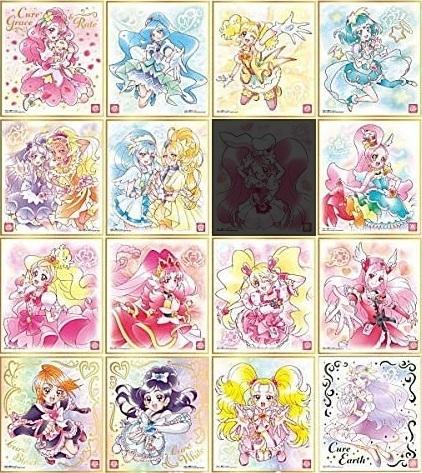 【開封レビュー】プリキュア色紙ART2(16個目~20個目)_f0205396_15542363.jpg
