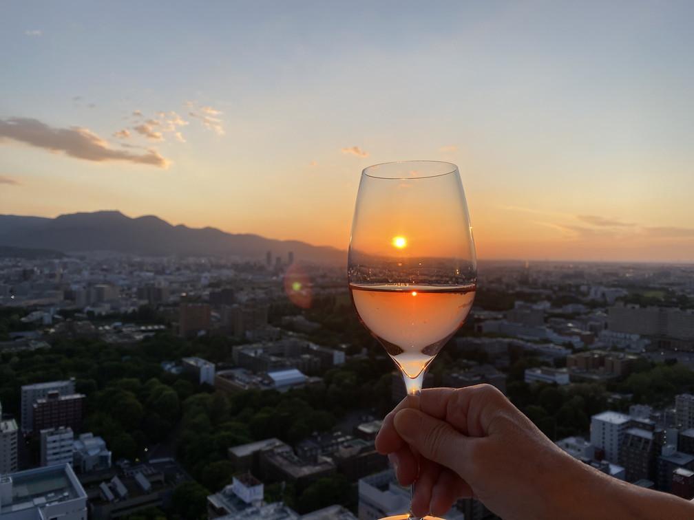 """2020年6月 『6月の夕日、夕焼け』 June 2020 \""""The Sunset & The Evening Glow in June\""""_c0219616_14350476.jpg"""